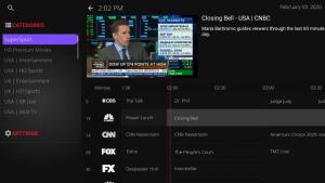 dark media live tv categories
