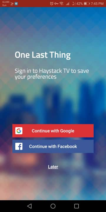 Step 11 - Haystack TV Android Device Installation Guide