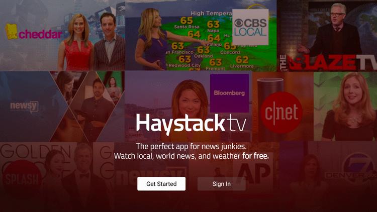Step 6 - Haystack TV APK Firestick:Fire TV Installation Guide