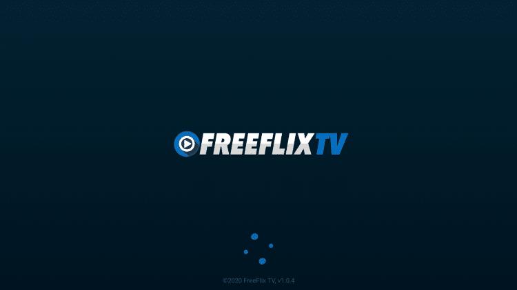 Launch FreeFlix TV