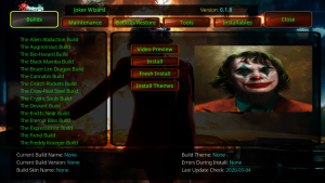 joker kodi builds
