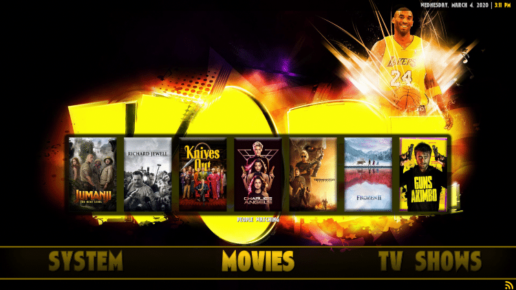 joker kodi builds categories