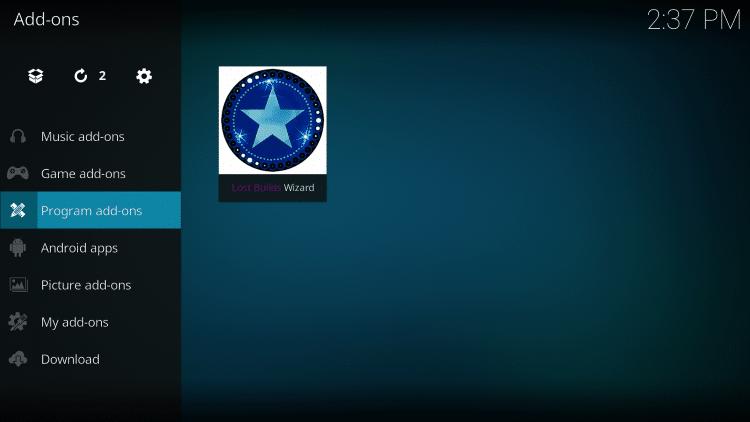 Select Program add-ons