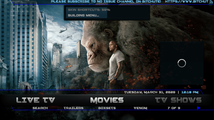 That's it! You have successfully installed the Maze Kodi Build.