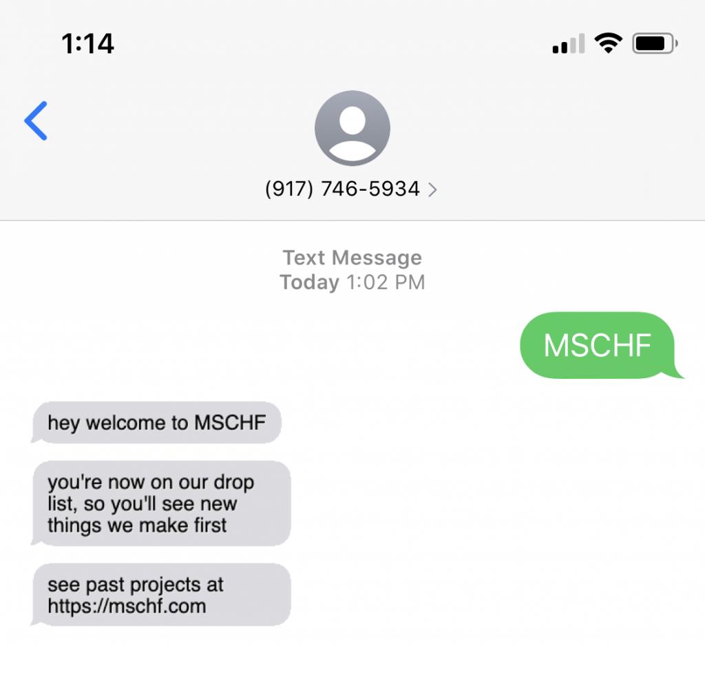 MSCHF Text