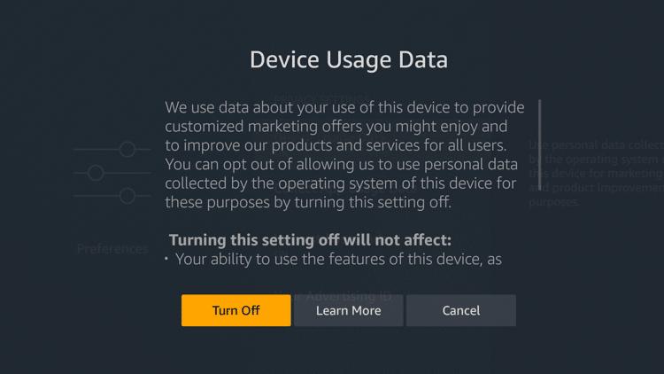 Step 5 - Modify privacy settings