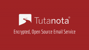 anonymous email account Tutanota