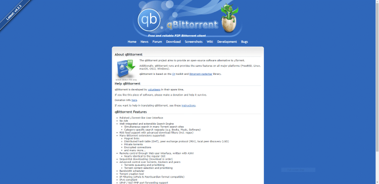 best torrent client qbittorent