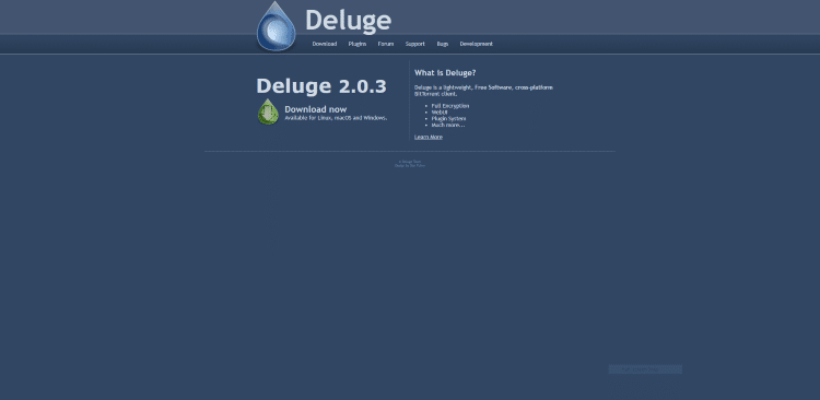 best torrent client deluge