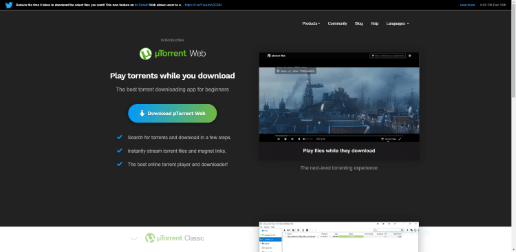 best torrent client utorrent