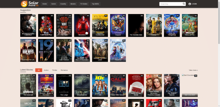 free online movie sites solarmovie