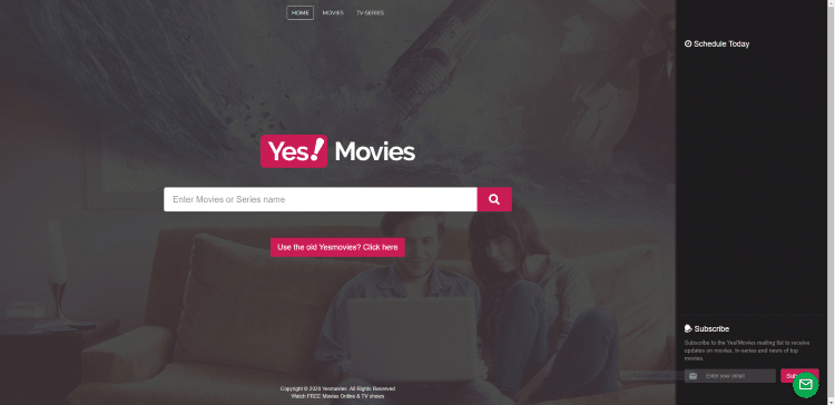 best free online movie sites yesmovies