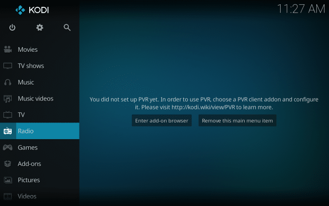 That's it! You have successfully installed Kodi for your Mac.