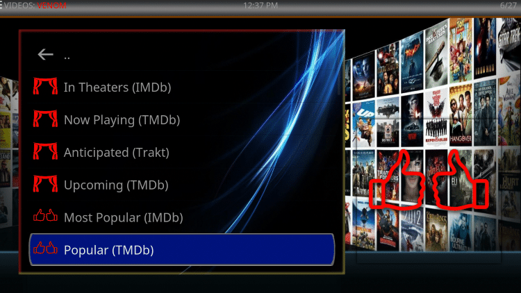 That's it! You are now able to watch Movies and TV Shows using Real-Debrid within the Nefarious Kodi build.