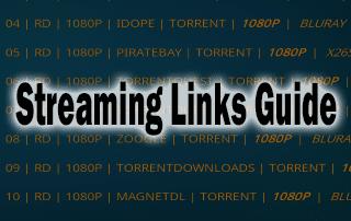 streaming links guide