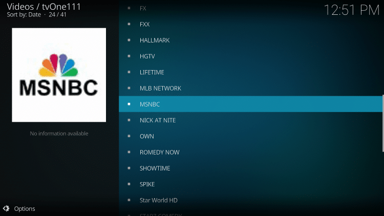 That's it! The TV One Kodi addon is now successfully installed!