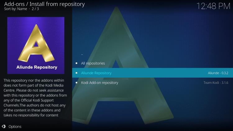 Click Aliunde Repository
