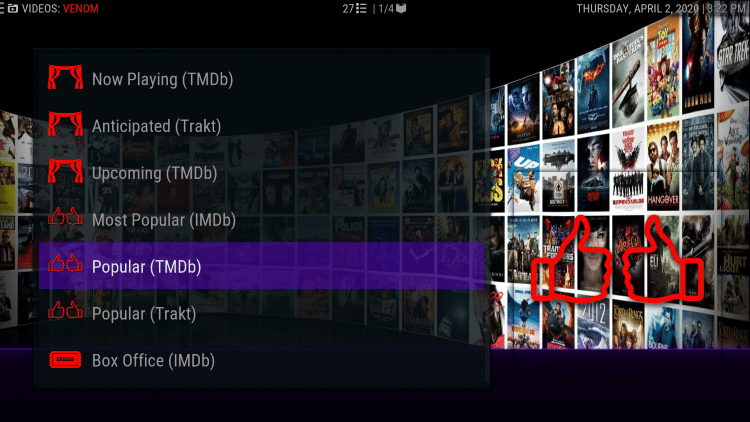 That's it! You are now able to watch Movies and TV Shows using Real-Debrid within the Underverse Kodi build.