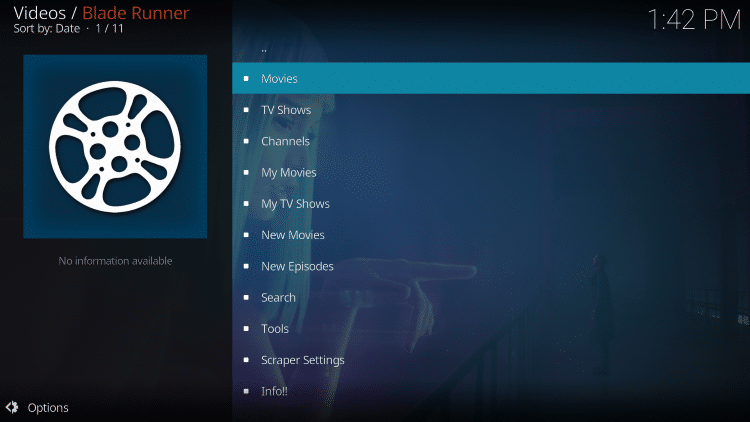 For these reasons and more, we have include Blade Runner within our TROYPOINT Best Kodi Addons list.