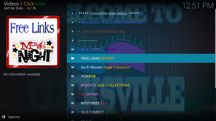 For these reasons and more, ClickSville has been chosen as a Best Kodi Add-On by TROYPOINT.