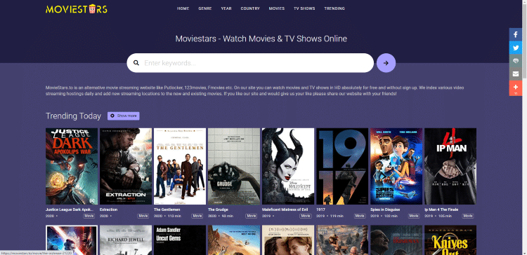 free movie websites moviestars movies