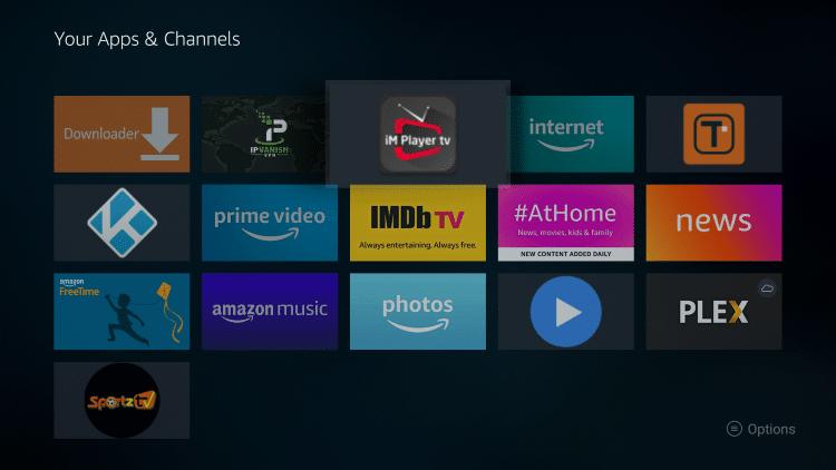 Uruchom ponownie aplikację iMPlayer.