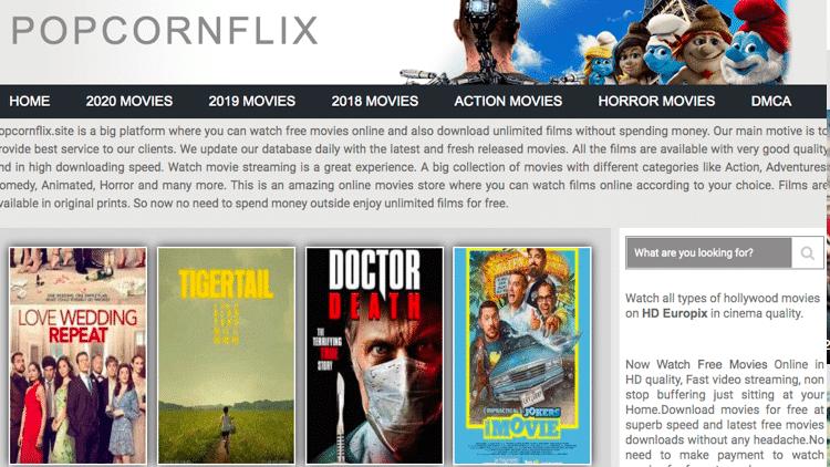 putlocker alternatives popcornflix