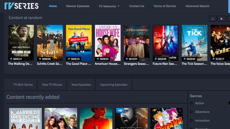 putlocker alternatives series tv