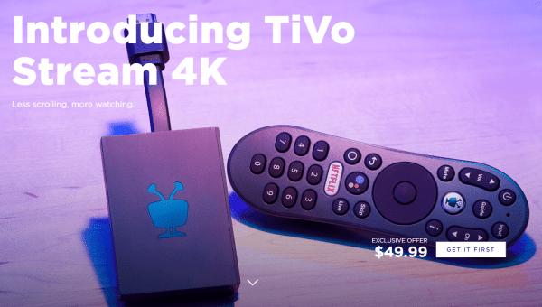 TiVo Stream 4K Price
