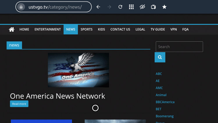 ustvgo news category
