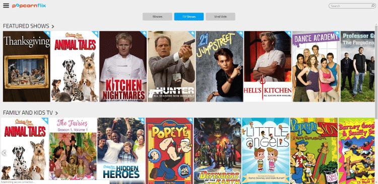 watch tv shows online free popcornflix