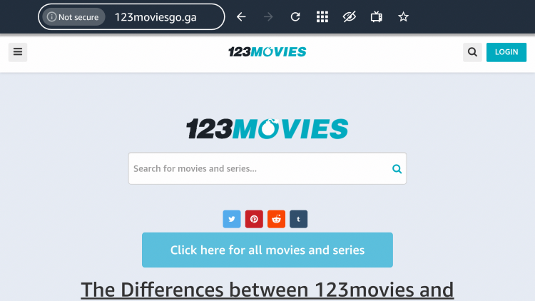 That's it! You are now able to use 123Movies on your Firestick/Fire TV device with the Silk Browser.
