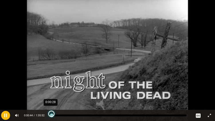 Enjoy streaming Movies and TV Shows using 123Movies! For this example, we watched Night of the Living Dead which is one of our Best Public Domain Movies.