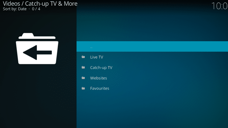Step 10 - How to Install Catch-up TV & More Kodi Addon Guide