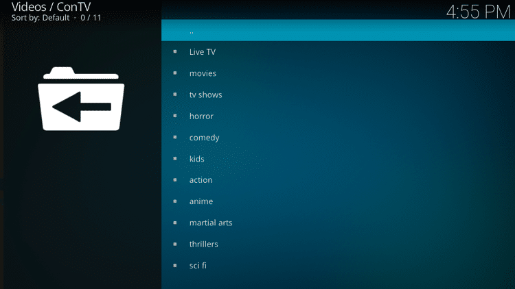 Step 10 - How to Install ConTV Kodi Addon Guide