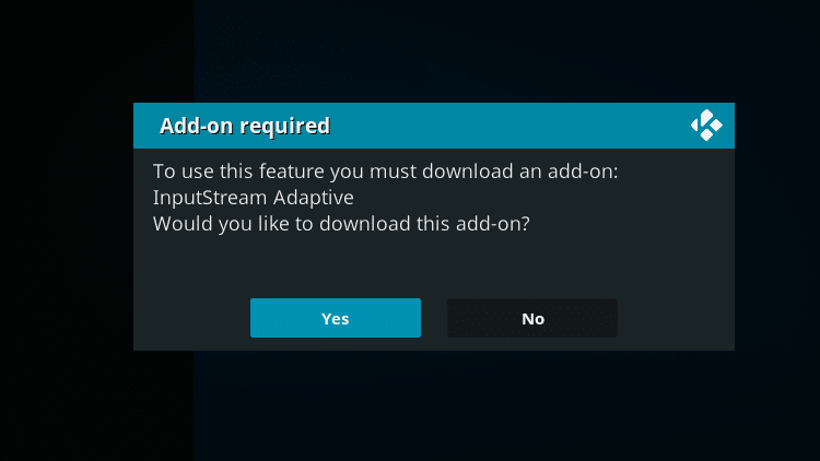 Step 10 - How to Install DAZN Kodi Addon Guide