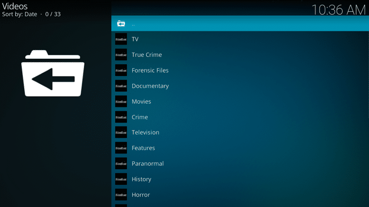 Step 10 - How to Install FilmRise Kodi Addon Guide