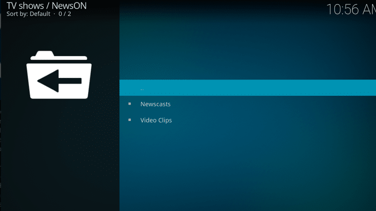 Step 10 - How to Install NewsON Kodi Addon Guide