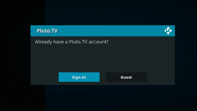 Step 10 - How to Install Pluto TV Kodi Addon Guide