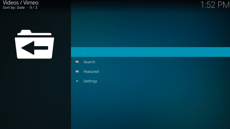 Step 10 - How to Install Vimeo Kodi Addon Guide