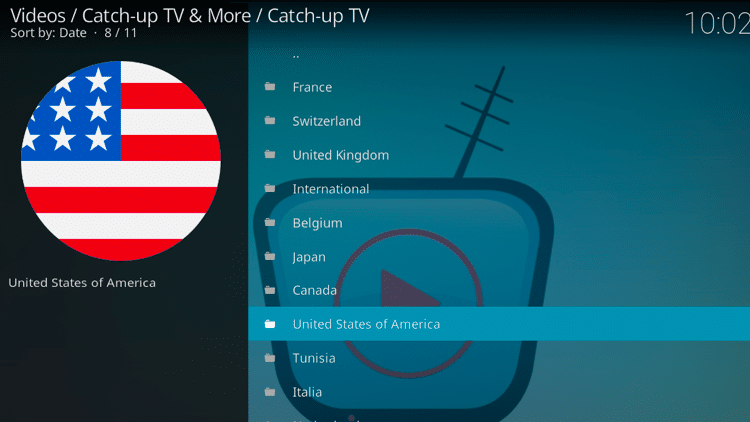 Step 12 - How to Install Catch-up TV & More Kodi Addon Guide