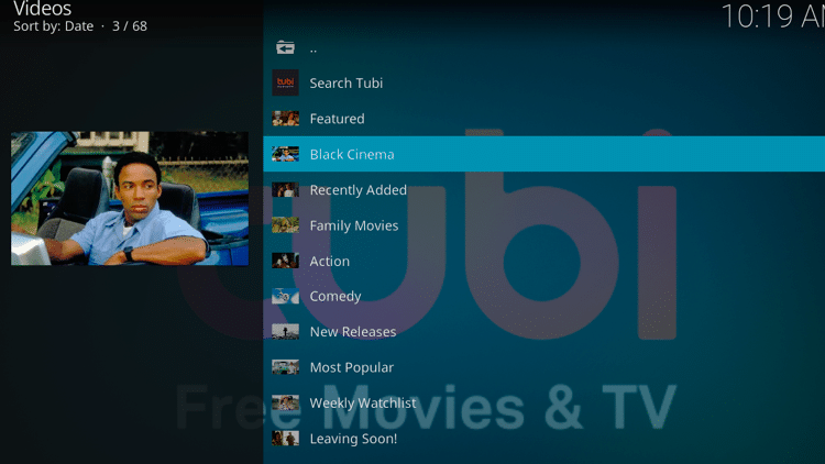 Step 12 - How to Install Tubi TV Kodi Addon Guide