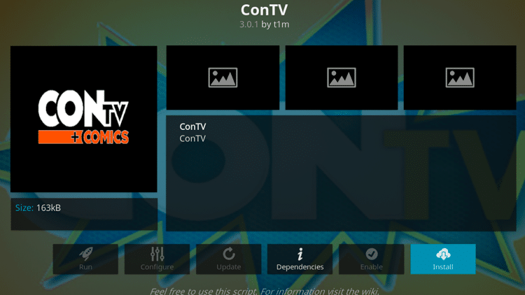 Step 6 - How to Install ConTV Kodi Addon Guide