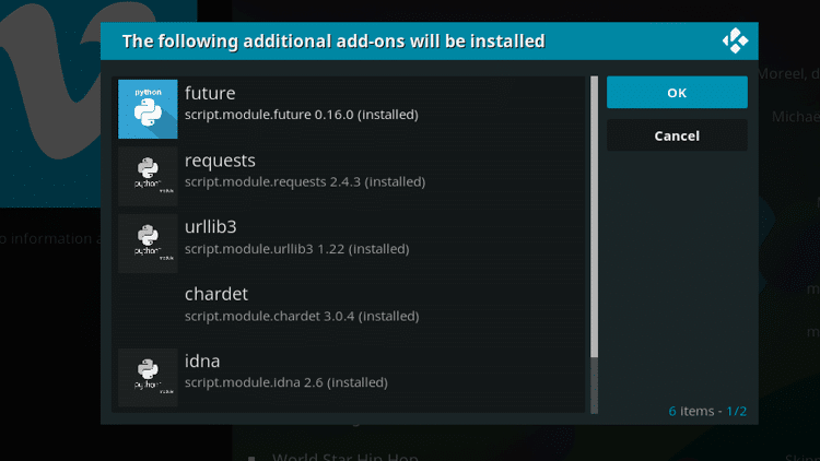 Step 7 - How to Install Vimeo Kodi Addon Guide