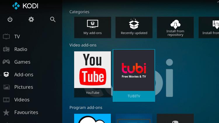Step 9 - How to Install Tubi TV Kodi Addon Guide