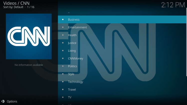 For these reasons and more, we have included the CNN add-on within our list of Best Kodi Addons.