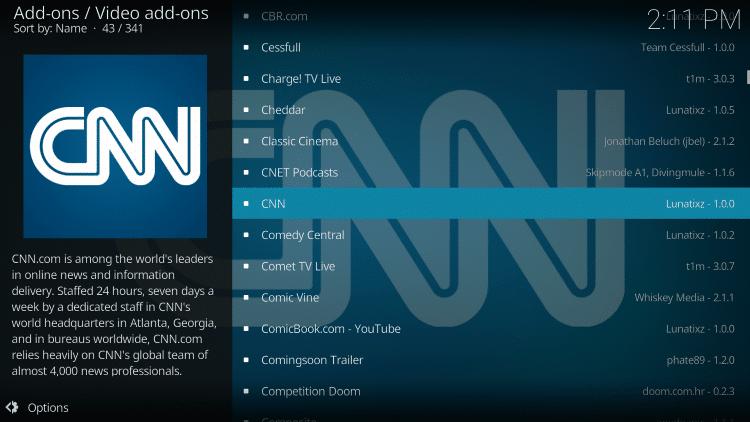 Choose CNN