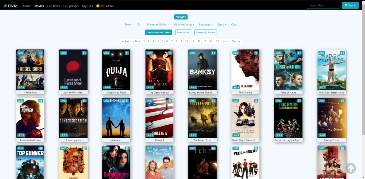flixtor movies genres