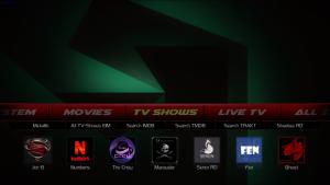 franks kodi build tv shows