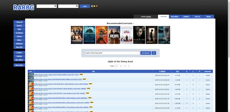 rarbg kickass torrents alternatives